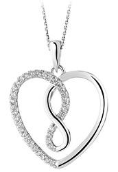 Ciondolo in argento Srdce SVLP0534XH2BI00