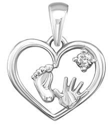 Ciondolo in argento Srdce SVLP0695XH2BI00