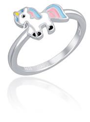 Stříbrný prsten s jednorožcem SVLR0392SH2BA
