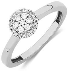 Strieborný prsteň s kryštálmi SVLR0238XH2BI