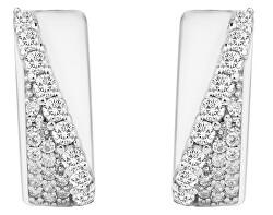 Cercei argintii cu zirconii strălucitoare SVLE0668XH2BI00