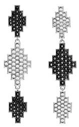 Luxusní náušnice s krystaly Argentina Long Pendant 5483652