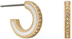 Pozlacené kruhové náušnice s krystaly 5545295