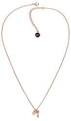 Pozlacený náhrdelník Lock & Key 5512233