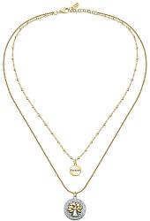 Dámský ocelový náhrdelník s přívěsky Strom života Family LPS10ASF03