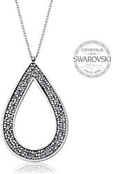 Krásny náhrdelník s kryštálmi SS Rocks Pear 49 crystal