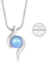 Nežný náhrdelník pre ženy PEARL WAVE