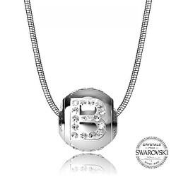 Oceľový náhrdelník písmeno B Cleto-B