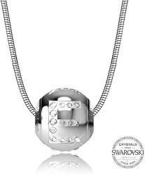 Oceľový náhrdelník písmeno E Cleto-E