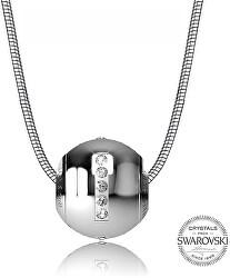 Oceľový náhrdelník písmeno I Cleto-I