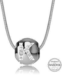 Oceľový náhrdelník písmeno K Cleto-K
