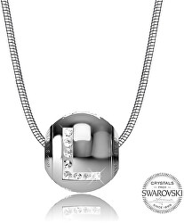 Oceľový náhrdelník písmeno L Cleto-L