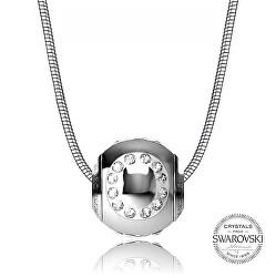 Oceľový náhrdelník písmeno O Cleto-O