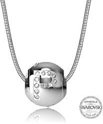Oceľový náhrdelník písmeno P Cleto-P
