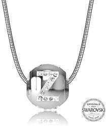 Oceľový náhrdelník písmeno Z Cleto-Z
