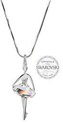 Originálne náhrdelník Baletka Silver Shade