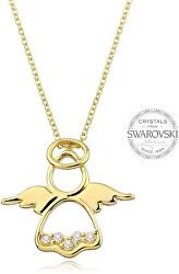 Originálne pozlátený náhrdelník Anjelik