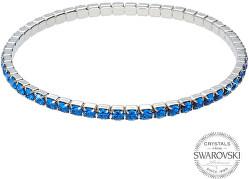 Třpytivý náramek s modrými krystaly 1459570
