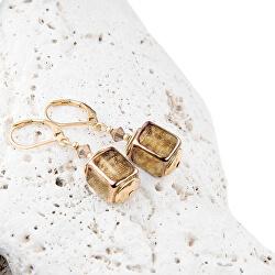 Designové dámské náušnice Sweet Ground z perel Lampglas ECU5
