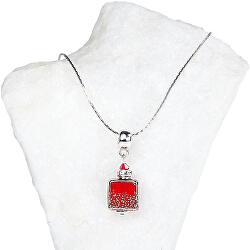 Elegantní dámský náhrdelník Bitter Days s perlou Lampglas NSA25