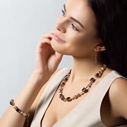 Elegantní náhrdelník Black Love z perel Lampglas NCU31