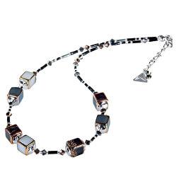 Elegantní náhrdelník Clear Night z perel Lampglas NCU25