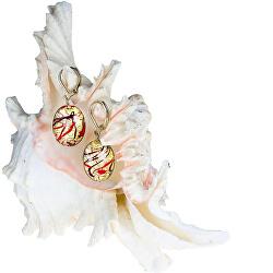 Elegantné náušnice My Roots z perál Lampglas s 24 karátovým zlatom EP15