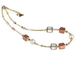 Jemný náhrdelník Sweet Cream z perál Lampglas NCU23