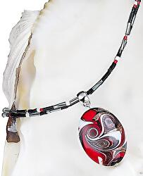 Magický náhrdelník Mayan Love s perlou Lampglas NP37