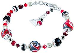 Magický náramek Mayan Love s perlami Lampglas BP37