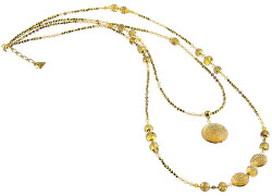 Okouzlující náhrdelník Honey Bee s perlami Lampglas NDP3