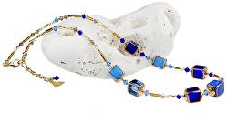 Výnimočný dámsky náhrdelník Ice Queen z perál Lampglas NCU15