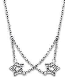 Hviezdičkový náhrdelník s kryštálmi LS1885-1 / 1