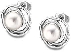 Náušnice s perličkami LS1855-4 / 1