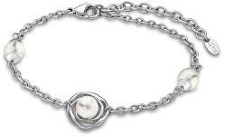 Romantický náramek s perličkami LS1855-2/1