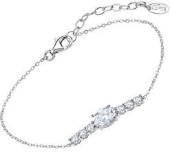 Dechberoucí stříbrný náramek s čirými krystaly Swarovski LP2011-2/1