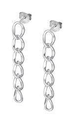 Módní stříbrné náušnice Trendy LP3268-4/1