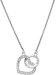 Romantický stříbrný náhrdelník LP1864-1/1