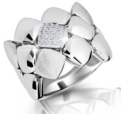Designový prsten ze stříbra M13045