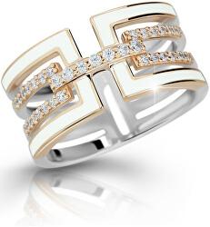 Luxusní stříbrný prsten M11072