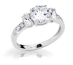 Elegantný zásnubný prsteň JA17250CZ