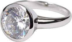 Pôvabný strieborný prsteň QJRY4034L