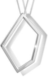 Strieborný náhrdelník M46008 (retiazka, prívesok)