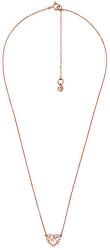 Bronzový náhrdelník so srdiečkom MKC1244AN791