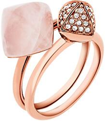 Luxusná sada dvoch prsteňov MKJ5255791