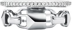 Modern dupla ezüst gyűrű MKC1025AN040