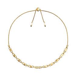 Pozlacený stříbrný náhrdelník MKC1018AA710