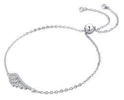 Módní stříbrný náramek s andělským křídlem B0000440