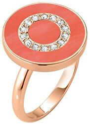 Bronzový prsteň zo striebra s kryštálmi Perfetti SALX18