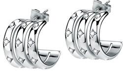 Női luxus karika fülbevalók Insieme SAKM79
